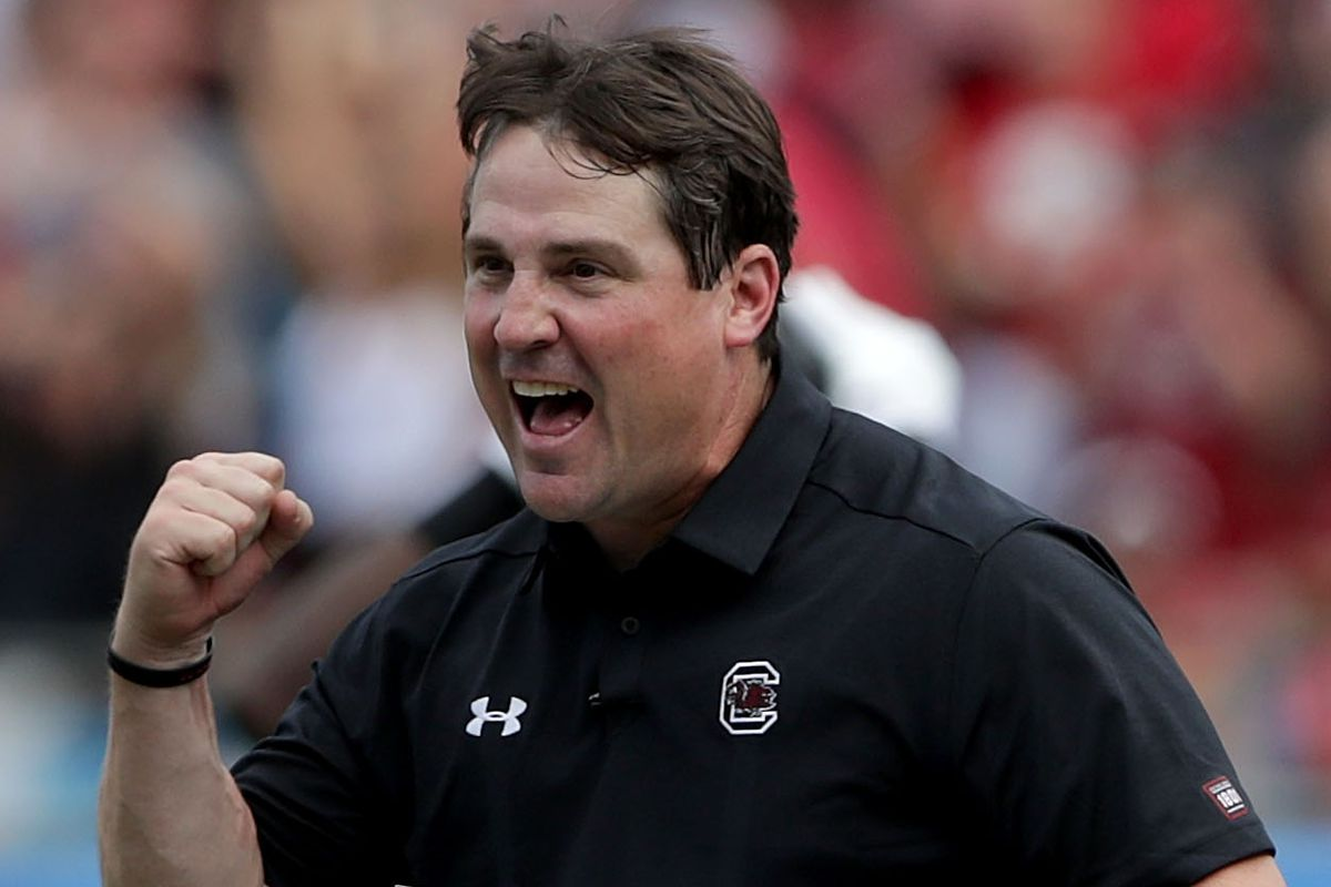 South Carolina Vs. N.C. State: Will Muschamp Postgame