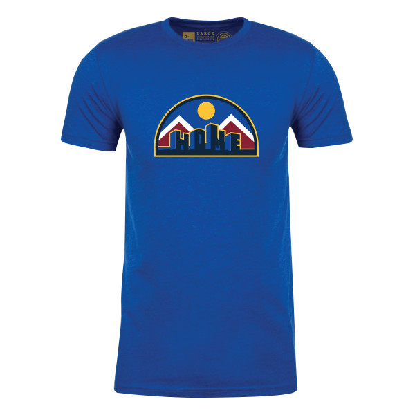 "The New Denver Nuggets ""HOME"" T-shirt From D-Line CO Is"