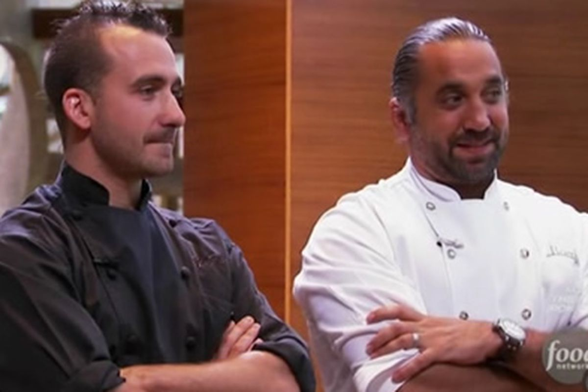 Marco Canora and Marc Forgione IN For Next Iron Chef Finale; Ming ...