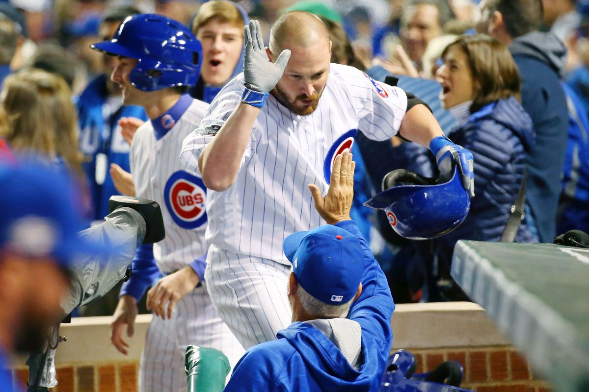 """""""Congrats, Travis!  You just made Cubs history!"""""""