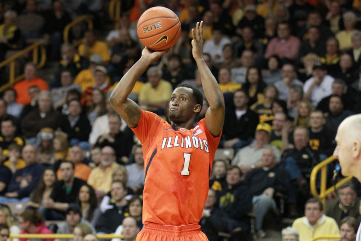 The Illini could use a little D.J. magic today