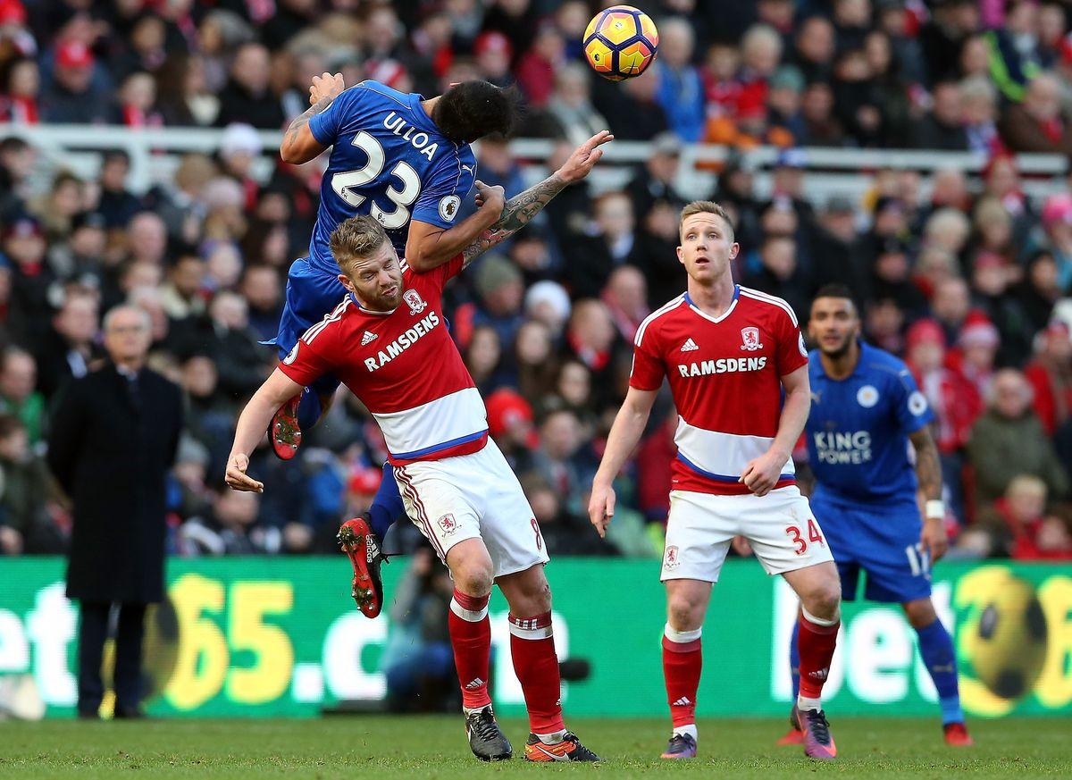Middlesbrough v Leicester City - Premier League