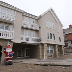 The former Parklane Manor senior living center, pictured in Salt Lake City on Thursday, Dec. 17, 2020, is being remodeled to expand The Other Side Academy, which is next door, with the help of a $100,000 donation from businessmen David Ibarra and K.O. Murdock. The academy is a 2 1/2-year residential program where those who have been involved in the criminal justice system can learn social, vocational and life skills.