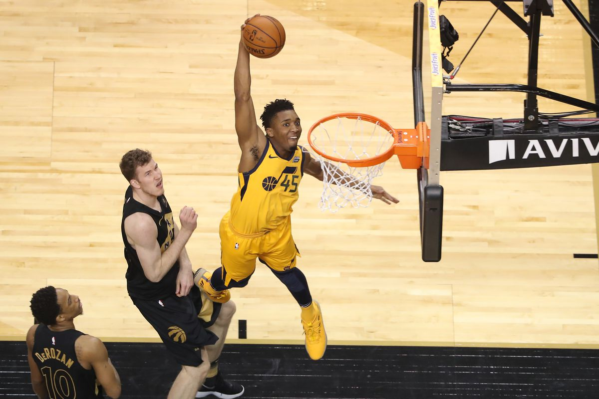 Donovan Mitchell Stats >> Donovan Mitchell added to 2018 NBA Slam Dunk Contest - Card Chronicle