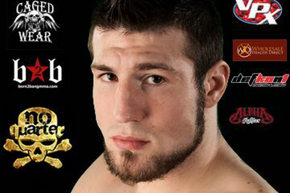 """Aaron """"Tex"""" Johnson (7-3) prepares for yet another main event. If you would like ticket information e-mail Tex at tex0401@gmail.com."""
