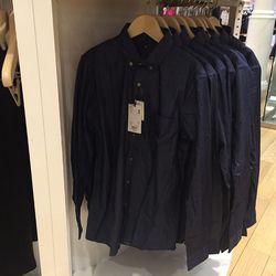 Men's shirt, $50