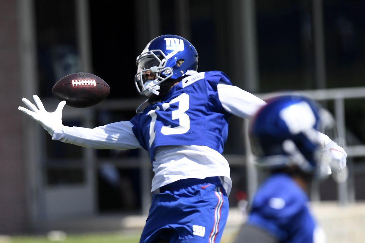 NFL: New York Giants-Minicamp