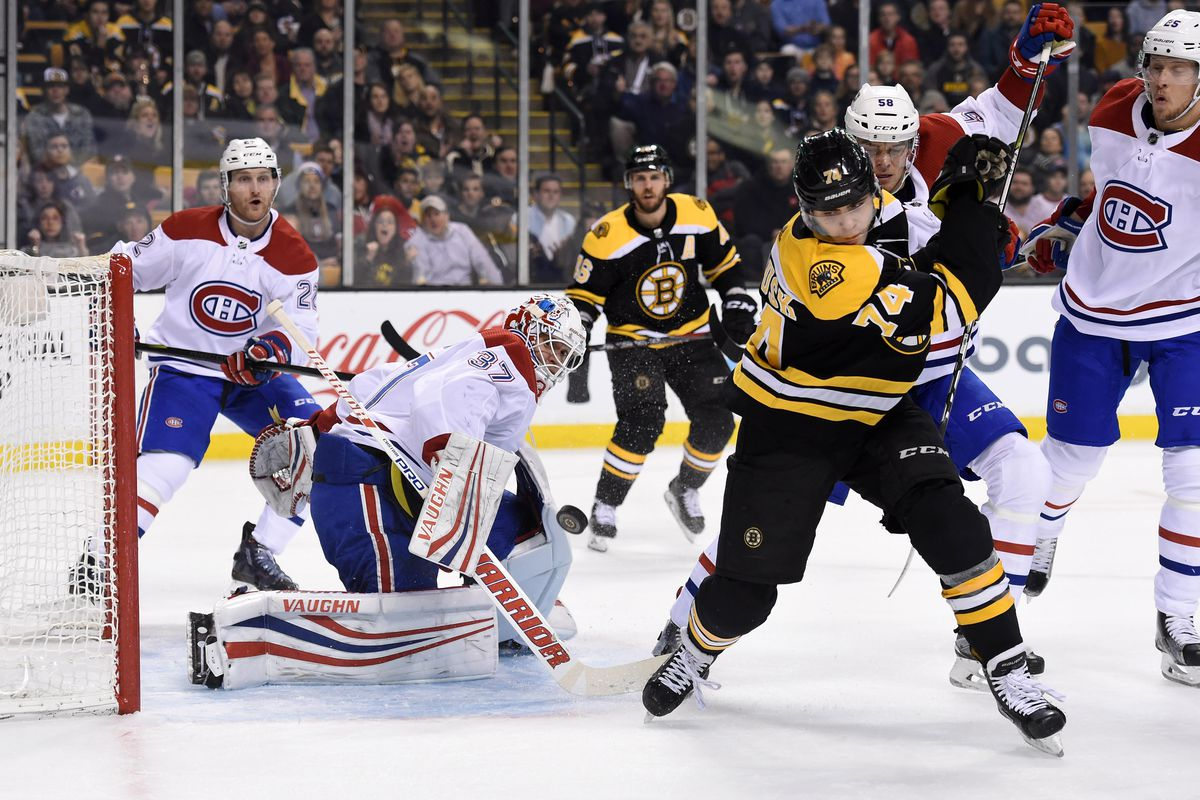 Bruins vs. Canadiens RECAP: Bruins complete the season sweep! B's win 2-1  in OT - Stanley Cup of Chowder