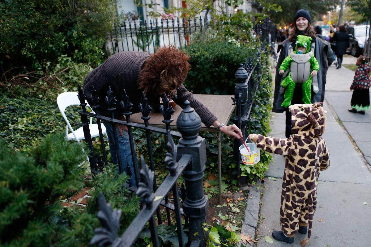 Halloween 2012 In New York City