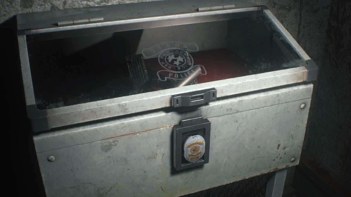 Resident Evil 2 Sewer Underground Stairs Special Weapons Case
