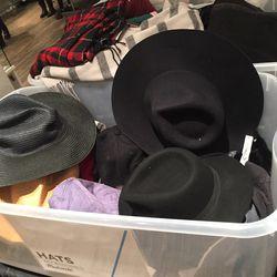 Hats, $20