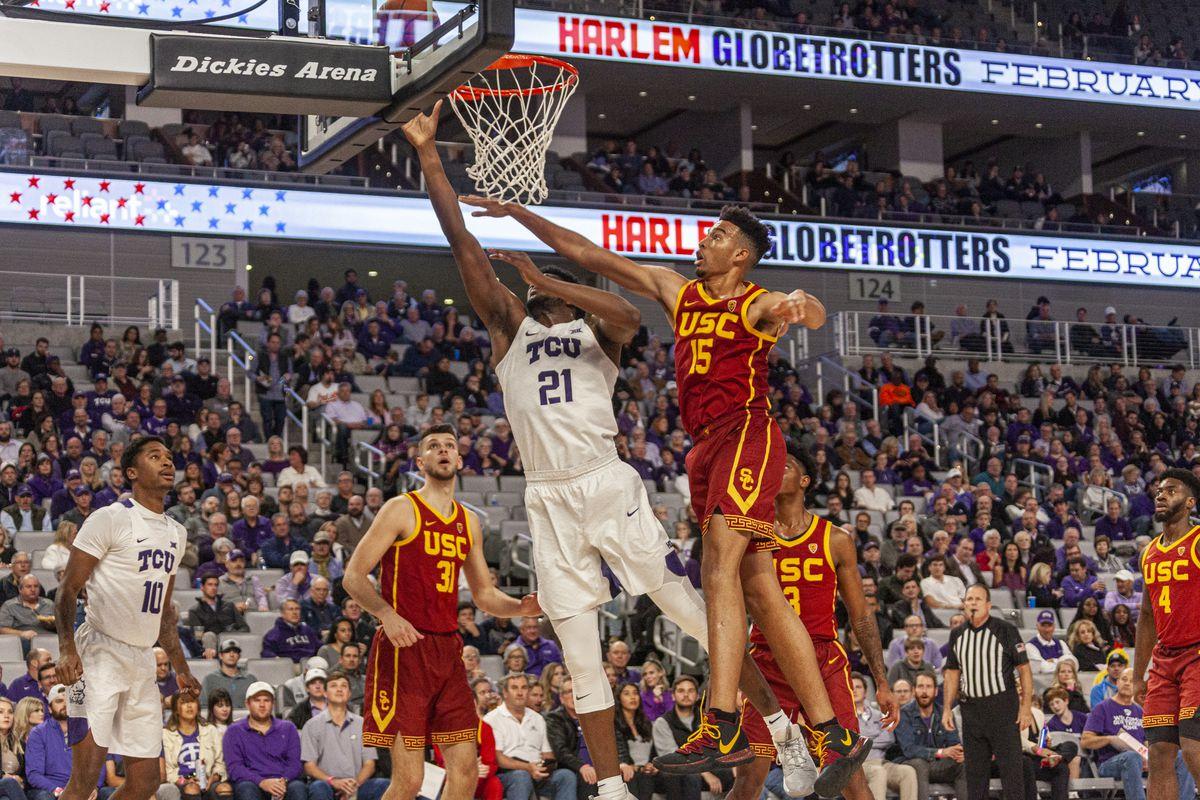 TCU Basketball vs USC   December 6, 2019   Dickies Arena   Fort Worth, TX