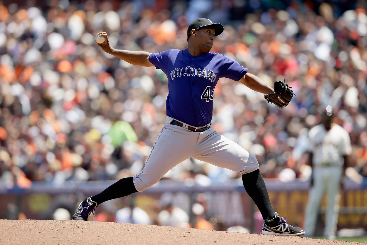Juan Nicasio heads to the mound tonight against the Reds.