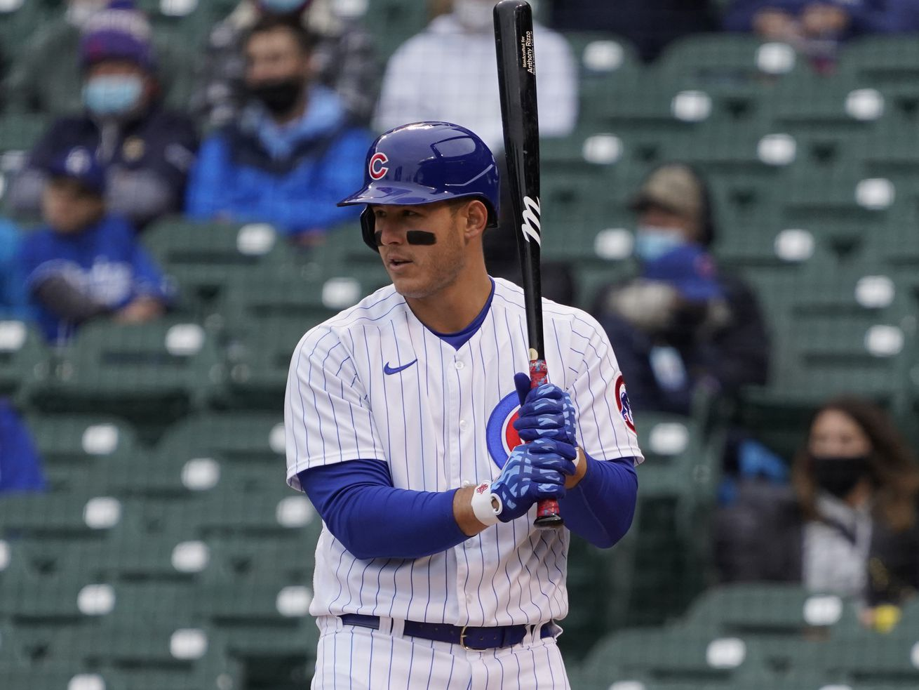 Cubs first baseman Anthony Rizzo said he has not received the COVID-19 vaccination.