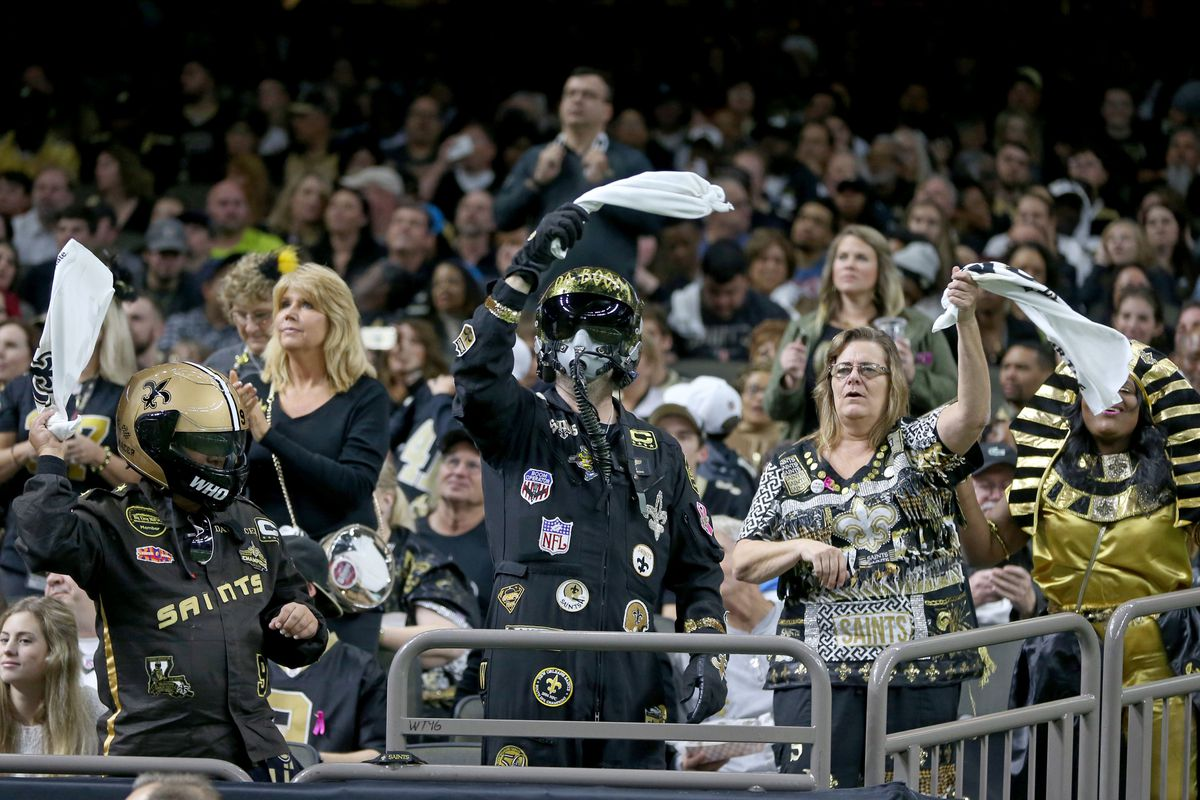 Saints on top of wild card postseason power rankings - Canal Street