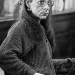 FILE - In this Jan. 15, 1993 file photo, Robert Kosilek sits in Bristol County Superior Court, in New Bedford, Mass., where Kosilek was on trial for the May 1990 murder of his wife. Kosilek was convicted in the murder, and has been living as a woman, Michelle Kosilek, and receiving hormone treatments while serving life in prison in Massachusetts.  On Tuesday, Sept. 4, 2012, U.S. District Judge Mark Wolf ordered Massachusetts to provide a taxpayer-funded sex-change operation for Kosilek.
