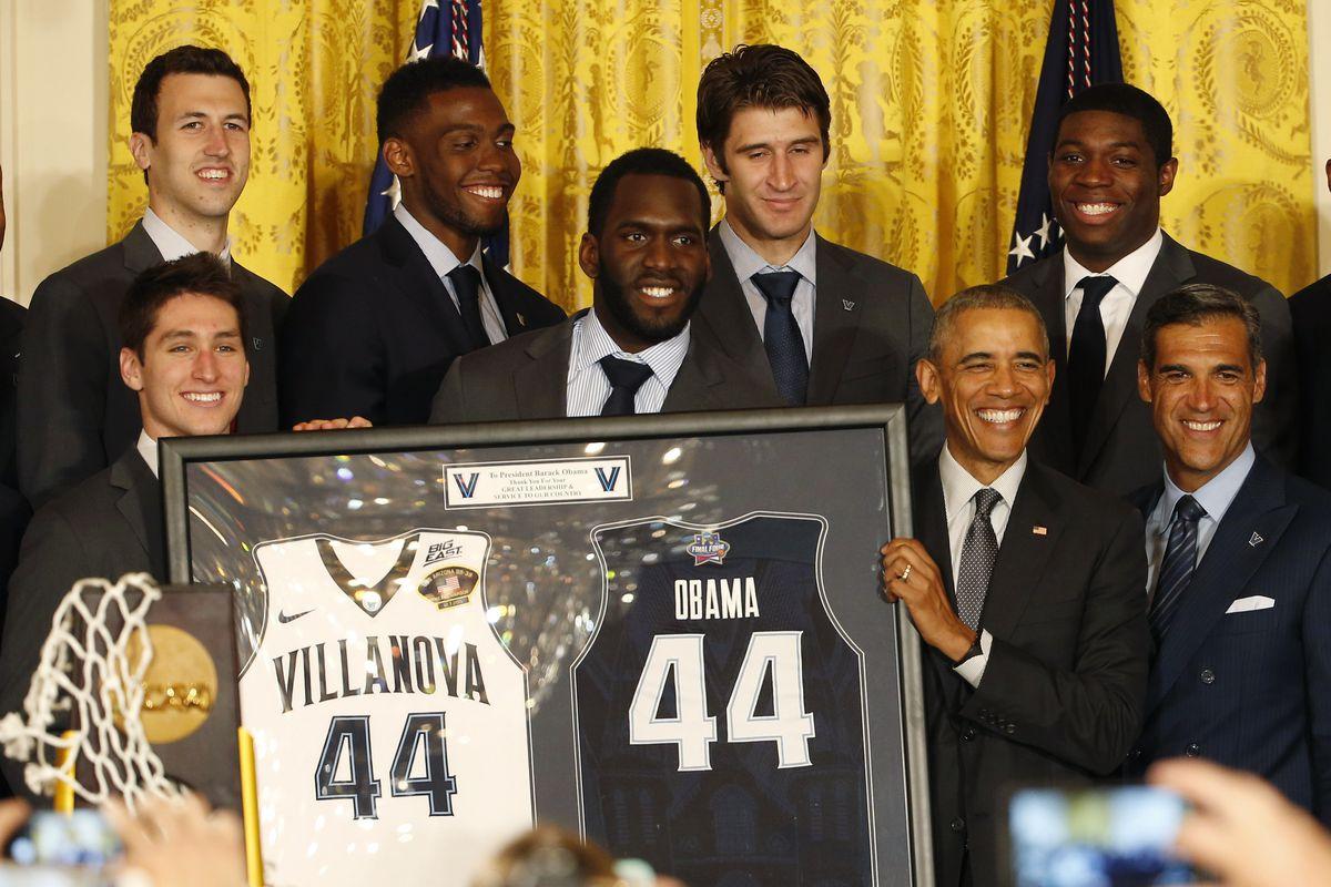 NCAA Basketball: NCAA Champion-Villanova White House Visit