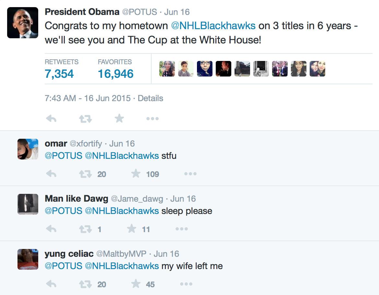 Obama my wife left me