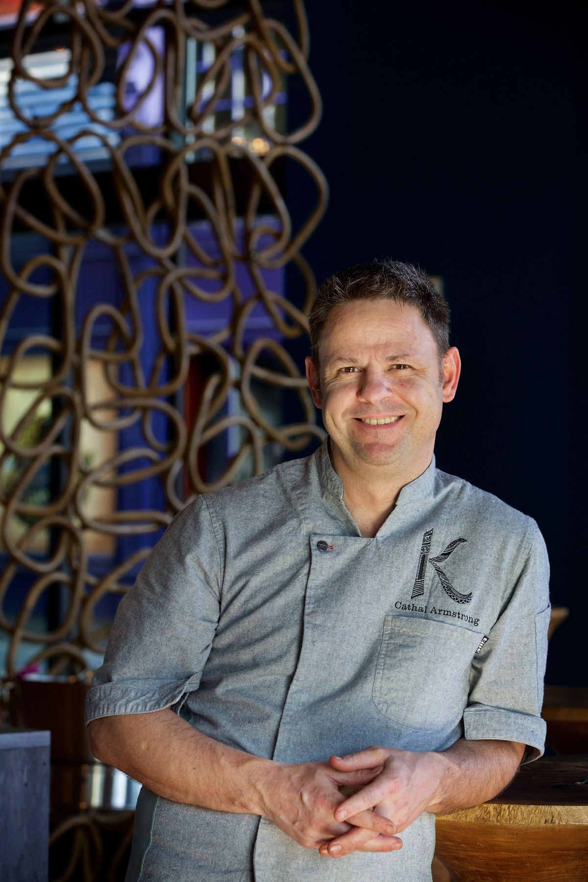 A portrait of Kaliwa owner Cathal Armstrong