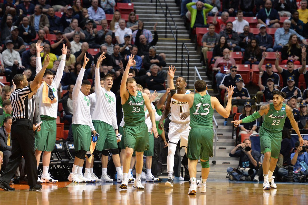 Jon Elmore drops 27 as Marshall beats Wichita State - Recap, Box score