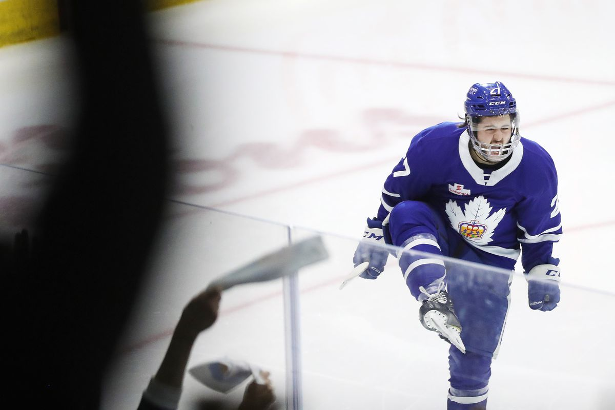 Toronto Marlies beat the Cleveland Monsters on overtime in game two of their second round Calder Cup play-off series