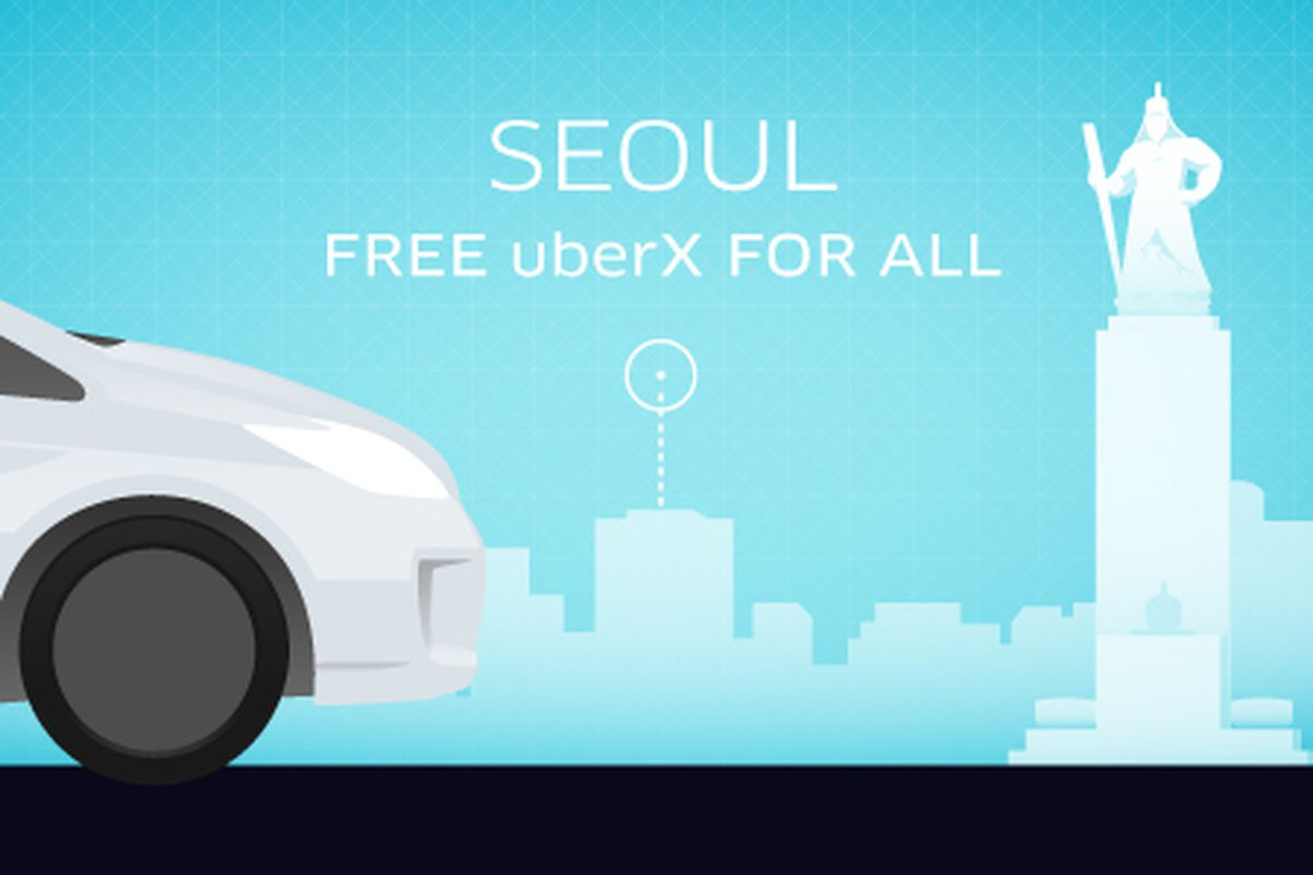 Uber won me over with its free rides in Seoul - The Verge