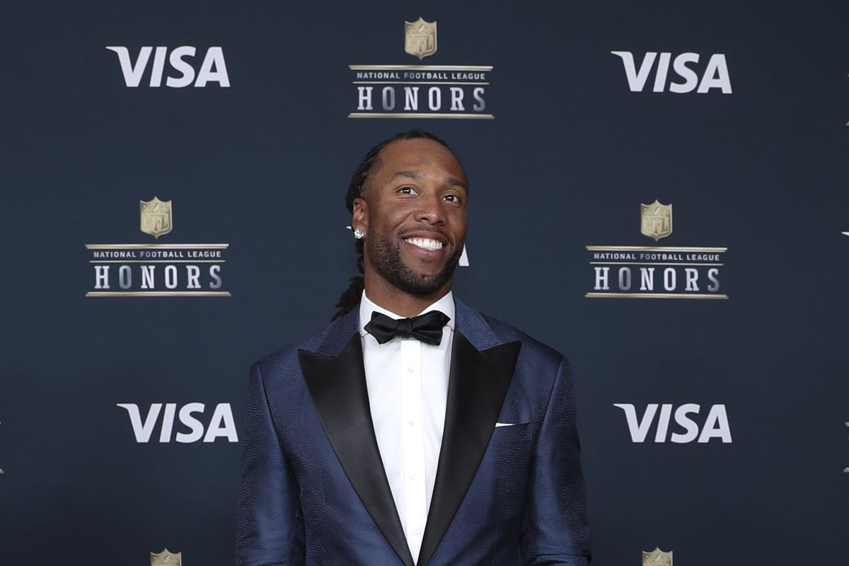 Image result for nfl honors larry fitzgerald