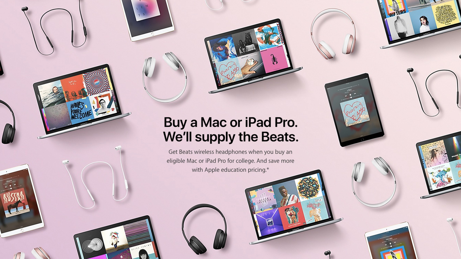 Apple is Giving Students Free Beats Headphones if They Purchase MacBooks and iPads