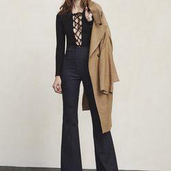 "Avalon bodysuit, <a href=""https://www.thereformation.com/products/avalon-bodysuit-black"">$78</a>"