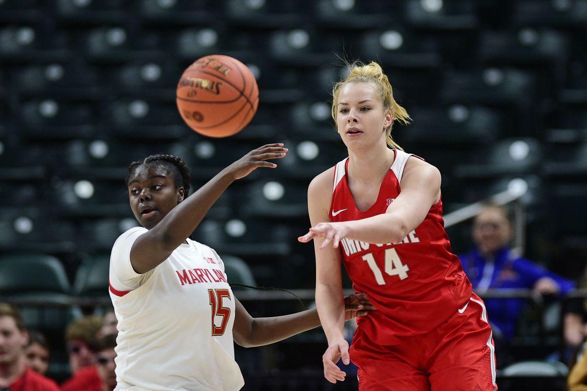 NCAA Womens Basketball: Big Ten Conference Tournament: Maryland vs Ohio State