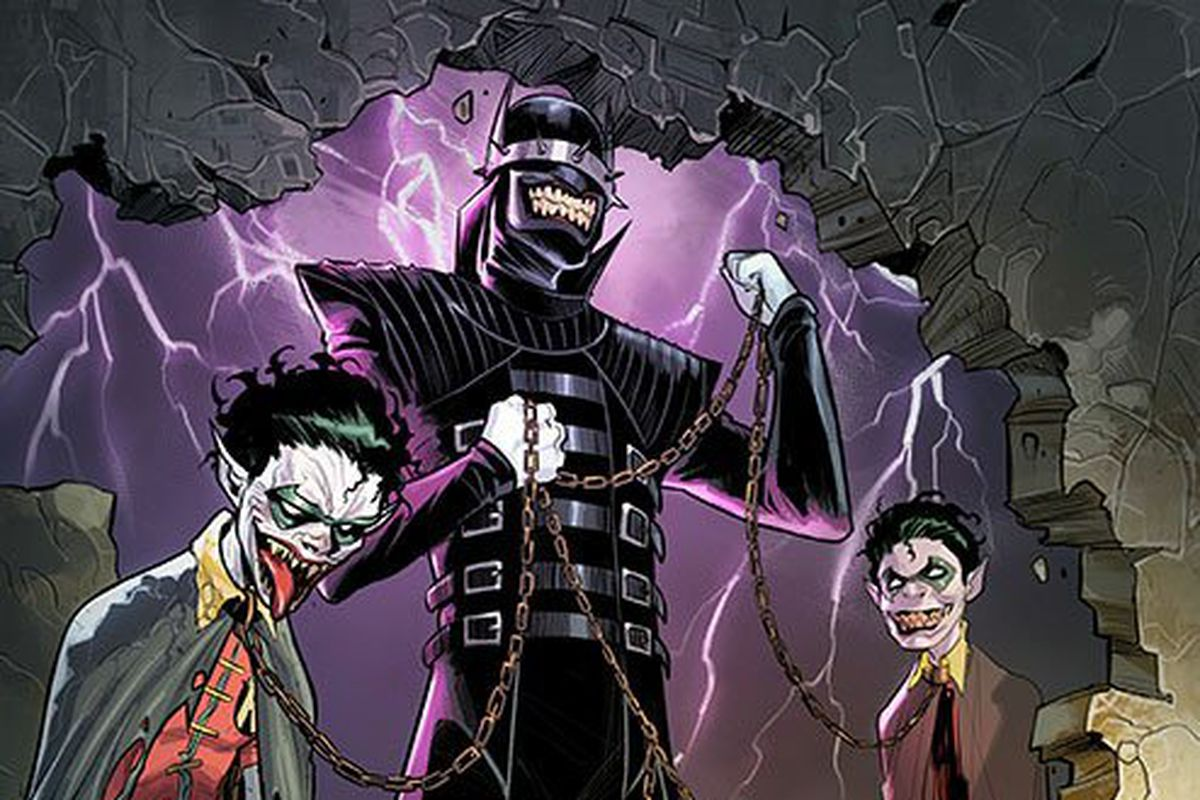 Dcs final nightmare batman a batman joker hybrid is truly from teen titans 12 mirka andolfodc comics voltagebd Image collections