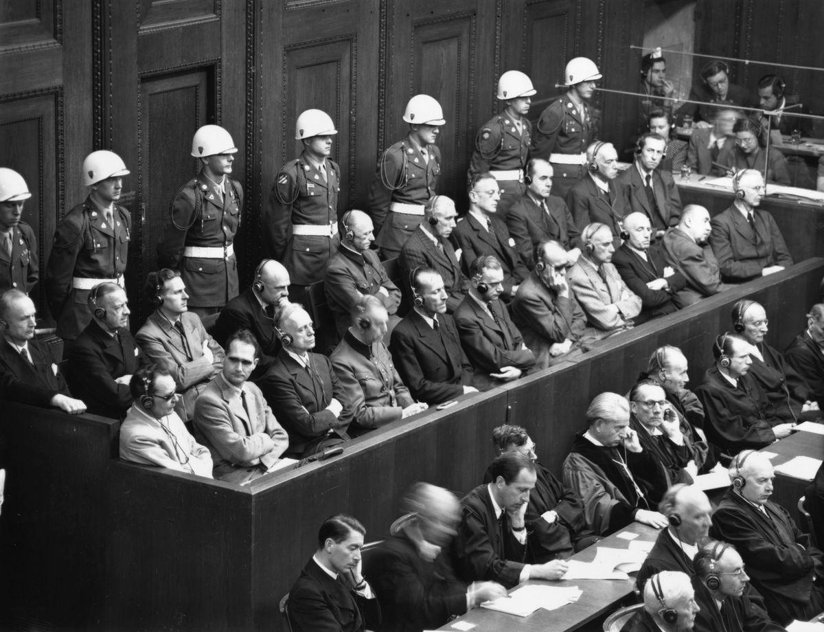 Nazis In Dock