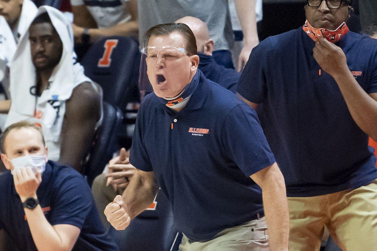 NCAA Basketball: Ohio at Illinois