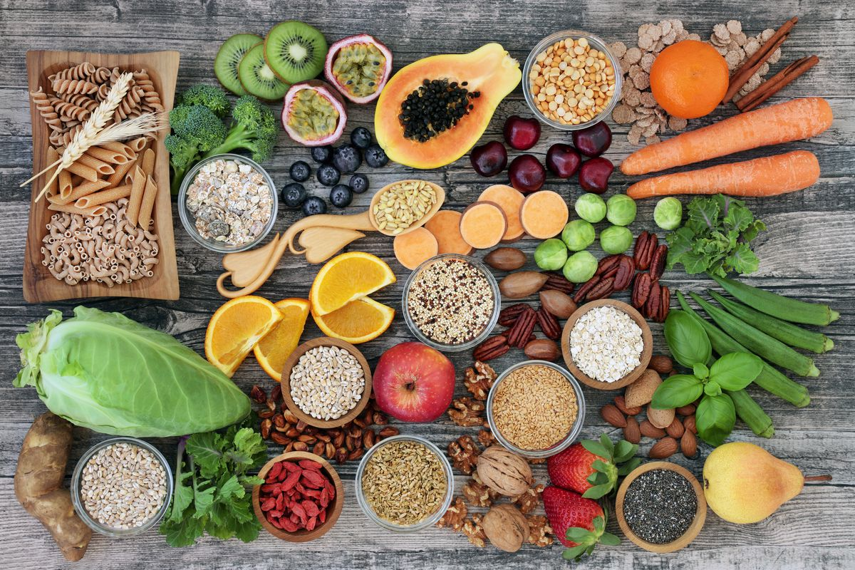 Fresh fruit, vegetables, seeds, beans, legumes and other fiber-rich foods are some of the key prebiotics that can help with gut health.