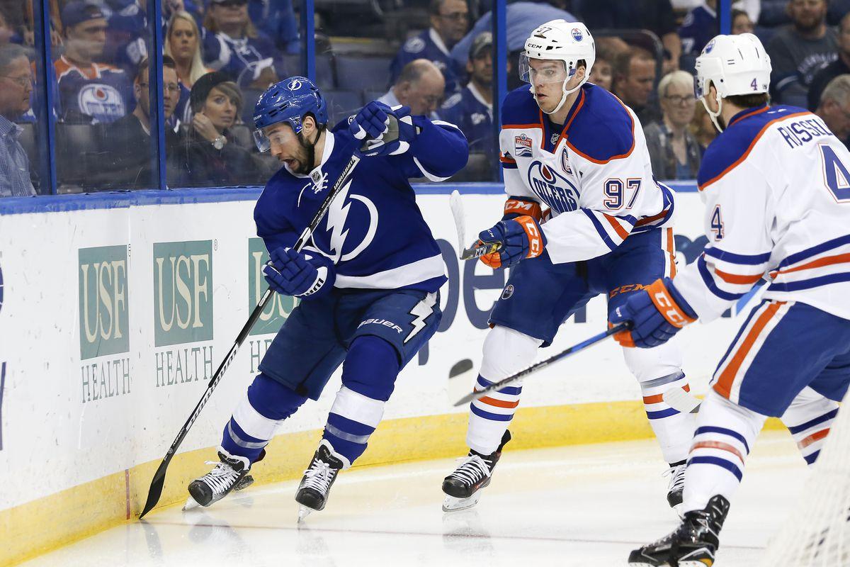 NHL: FEB 21 Oilers at Lightning