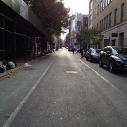 "Prince Street was empty circa 9:45am. Image via <a href=""https://twitter.com/TomNamako/status/263638545493790722"">@TomNamako</a>/Twitter."