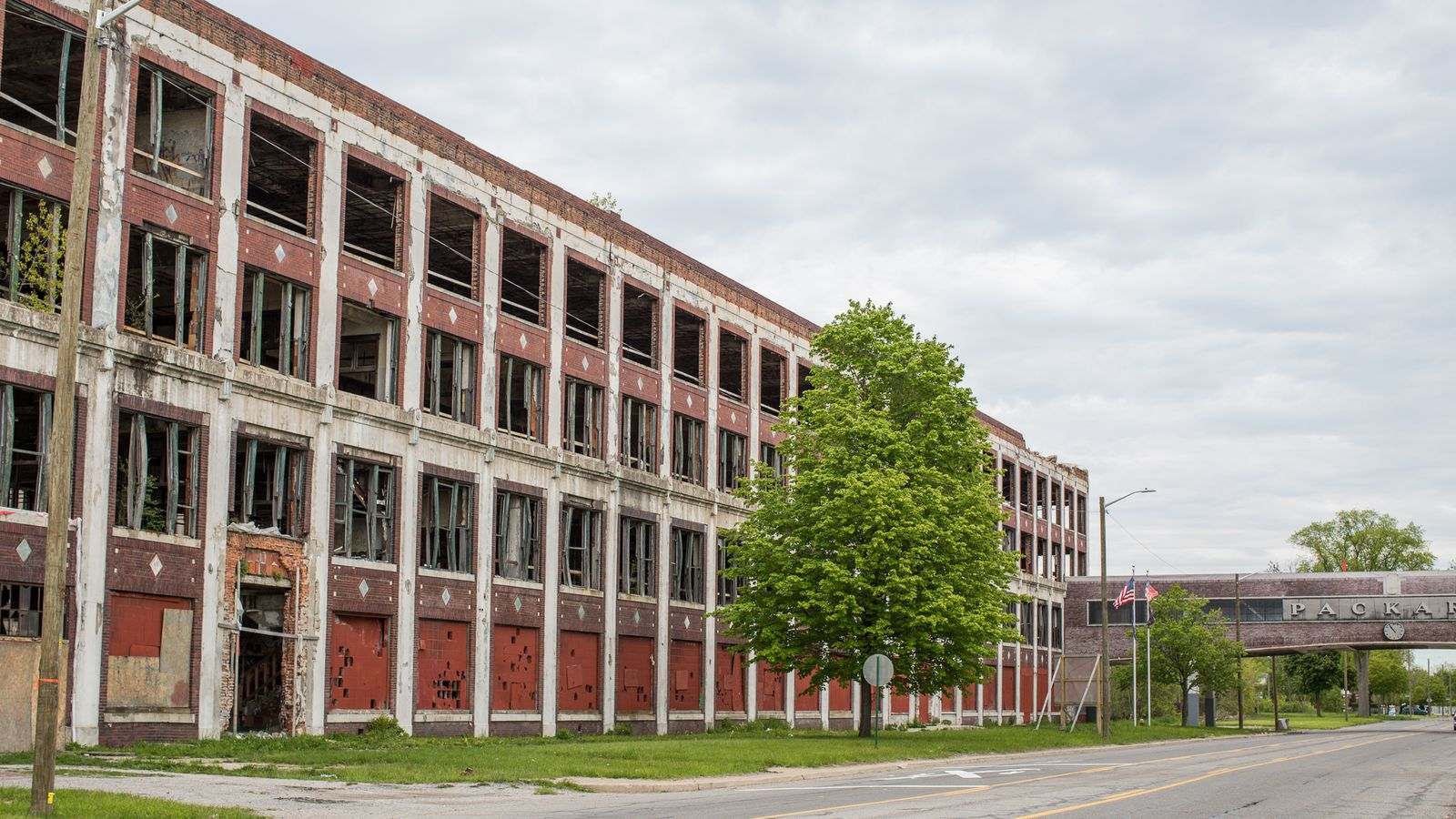 The Packard Plant Breaks Ground On First Phase Of Massive