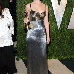Jennifer Lawrence at the Vanity Fair Oscar Party in 2013.