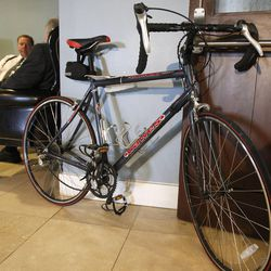Tyler Newman and Michelle Oliverson met when he came to buy this bike from her that she had listed on KSL.com.