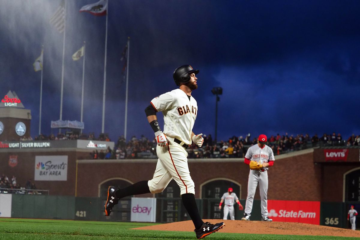 Final Score: Giants hold on for 5-3 win over Reds - McCovey