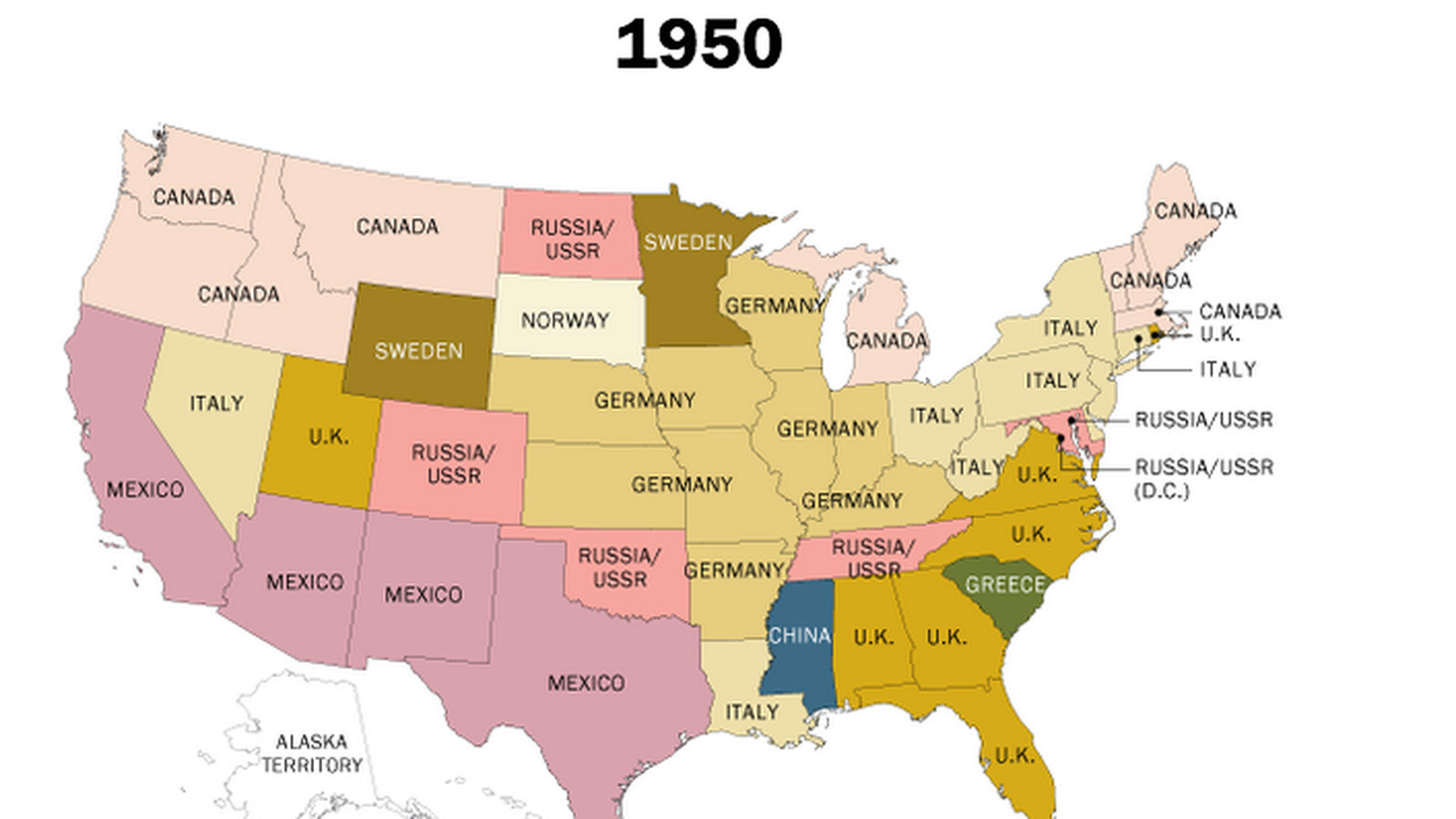 160 years of US immigration trends, mapped - Vox