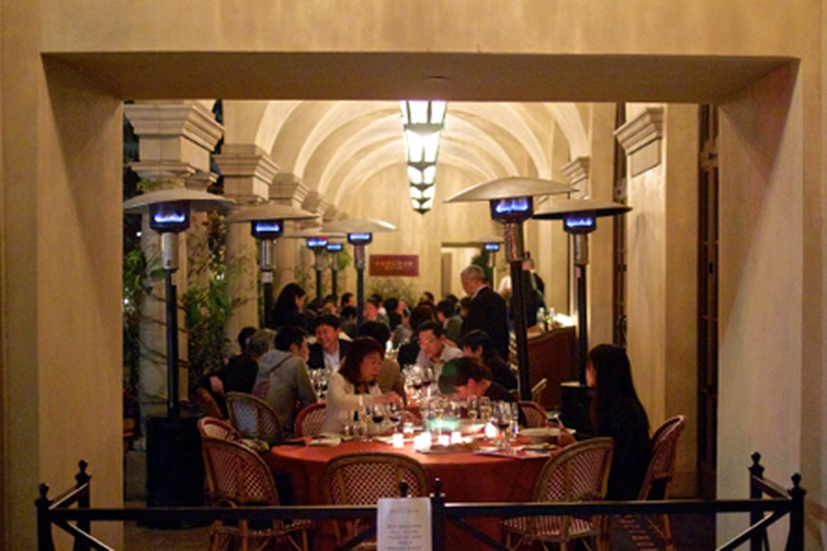 The Patio at Bar Bouchon, Beverly Hills