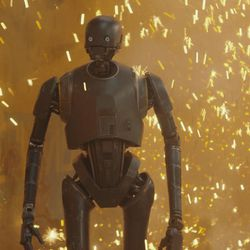 Rogue One: A Star Wars Story  K-2SO (Alan Tudyk)  Ph: Film Frame  © 2016 Lucasfilm Ltd. All Rights Reserved.