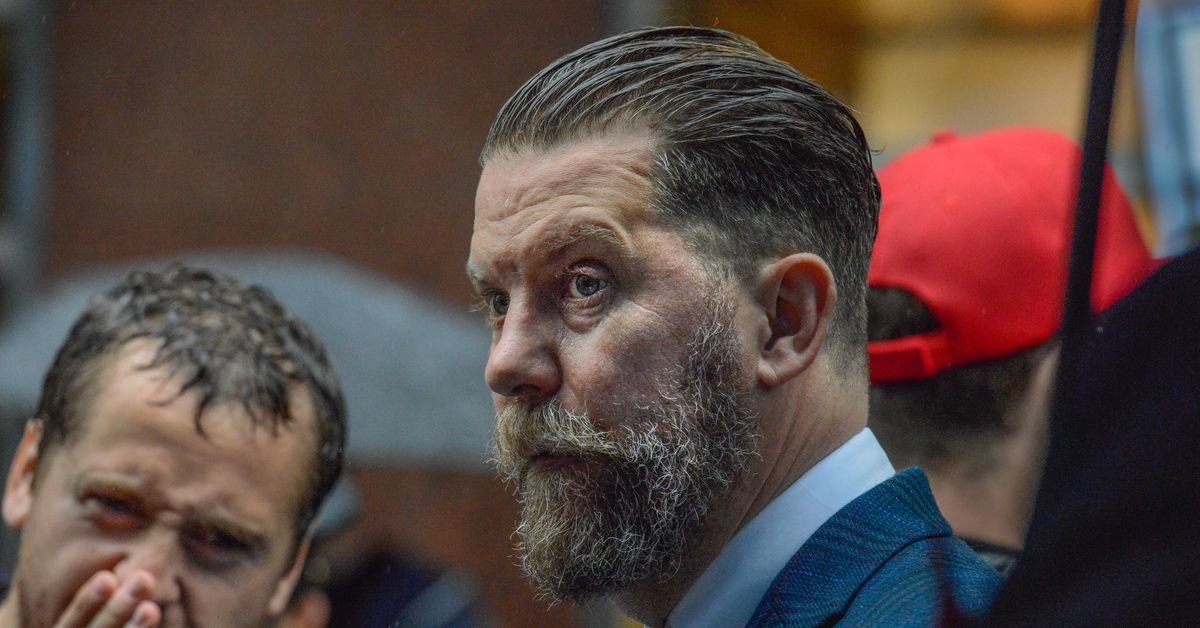 Facebook bans accounts affiliated with far-right group the Proud Boys and founder Gavin McInnes