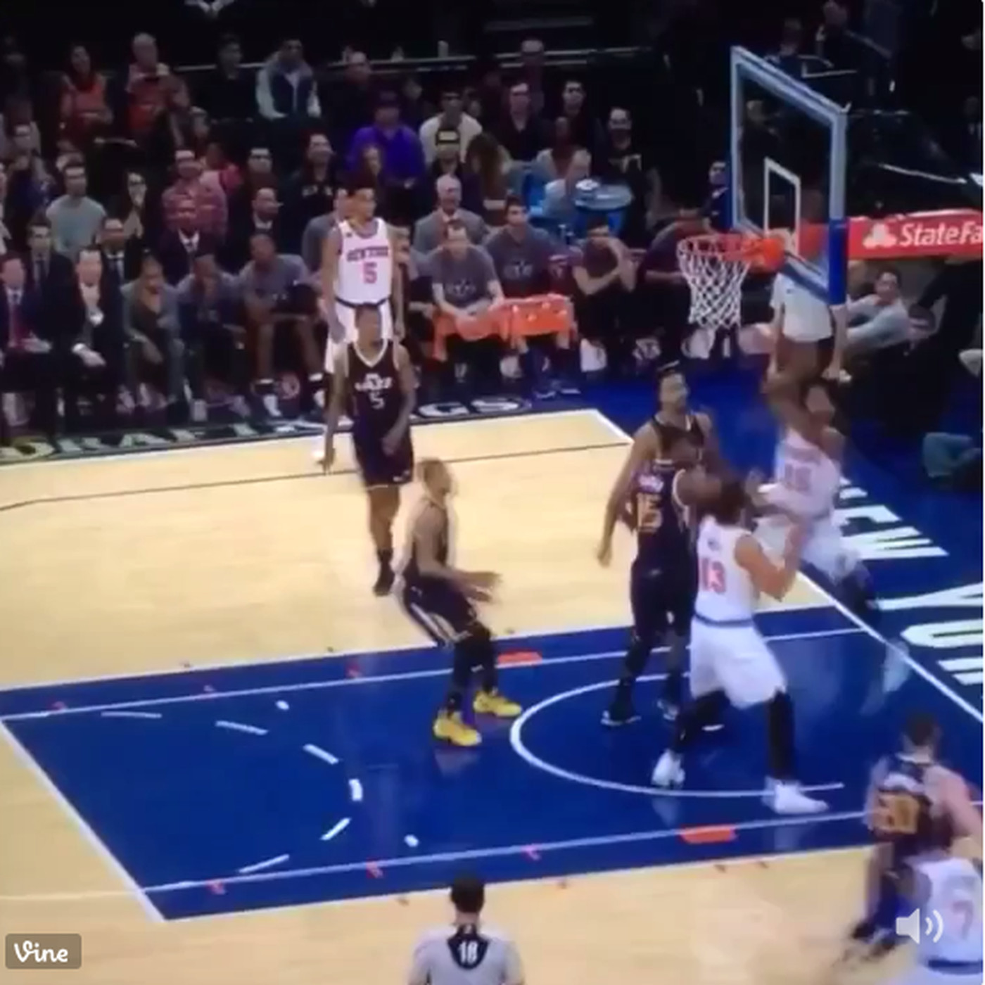 7fa3b81733d This Derrick Rose pass is so ridiculous it looks like something out of  NBA  2K17  - SBNation.com