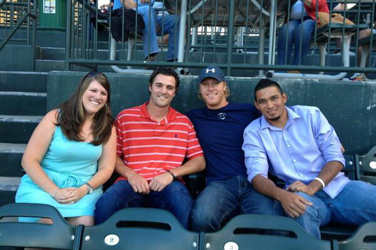 Subber10's sister with Tropeano, Folty, and David Martinez