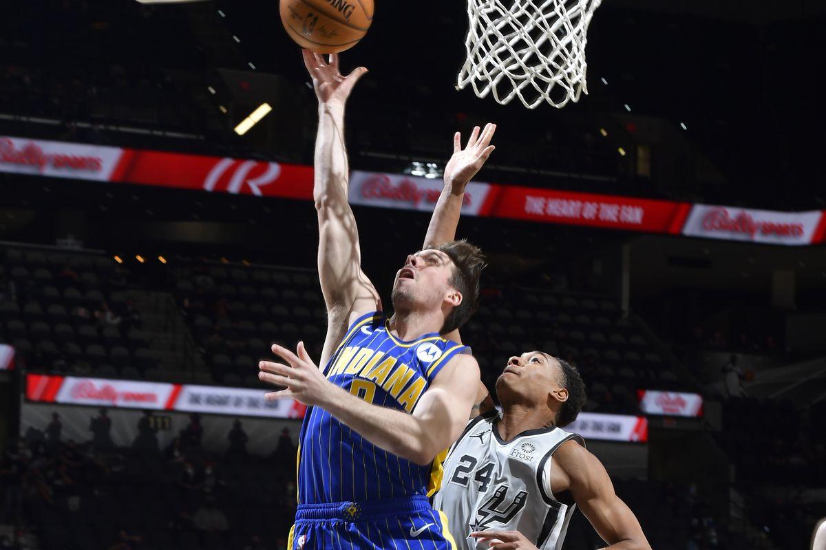 Indiana Pacers v San Antonio Spurs