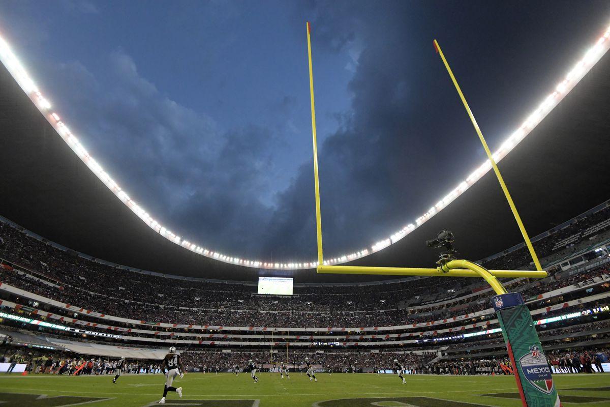General view of Estadio Azteca during an NFL International Series game