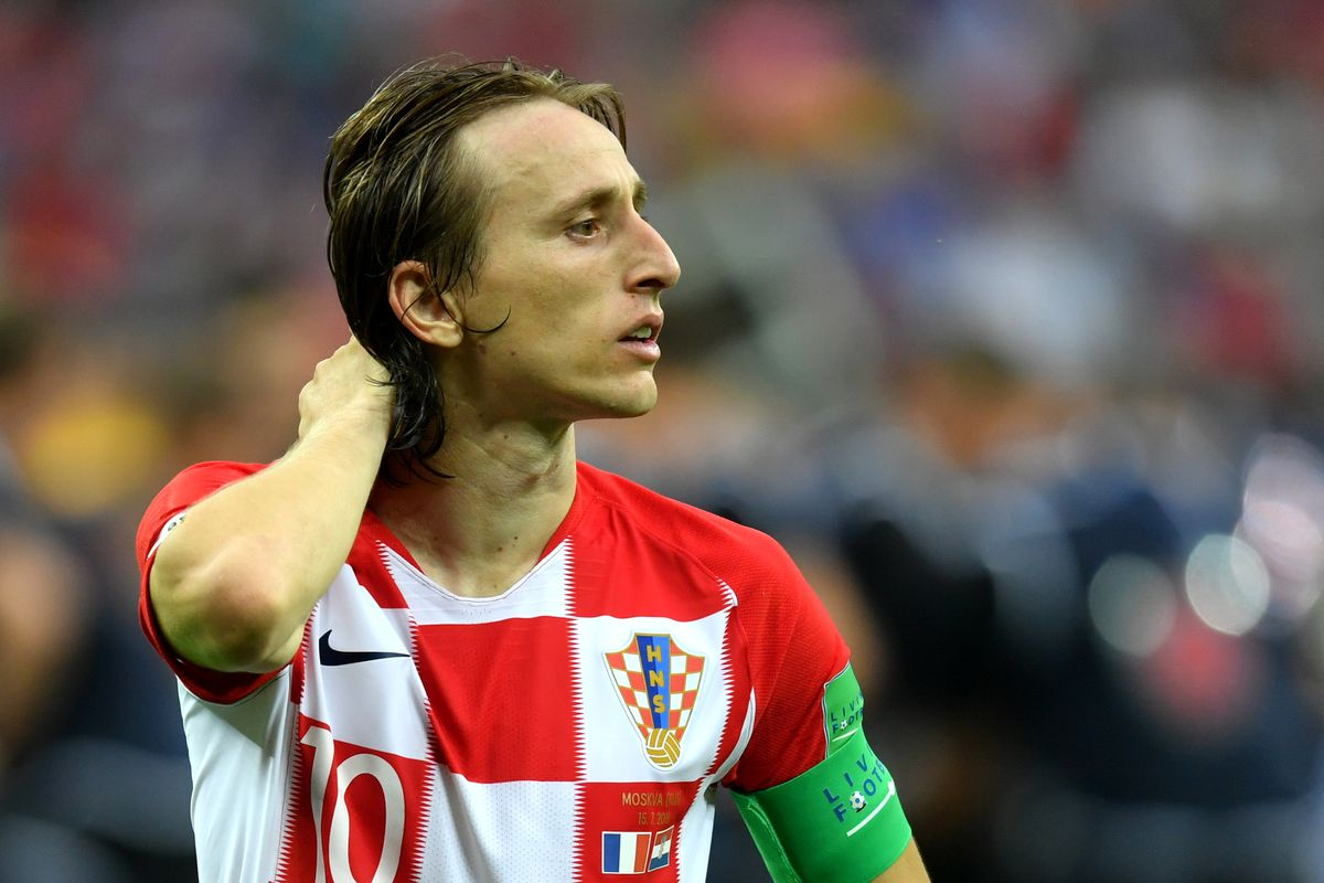 the latest 8f714 a7fdf World Cup 2018: Luka Modric was the artist that Croatia ...