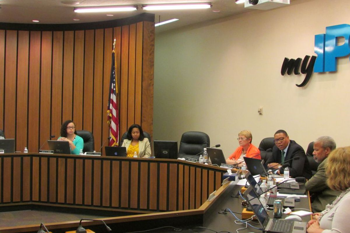 The IPS school board approved a change in the rules for a rainy day fund that made $21 million more accessible.